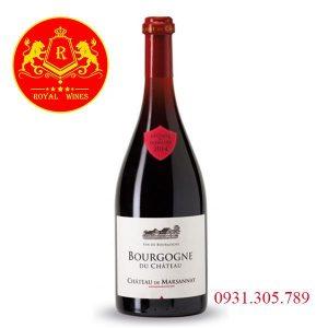 Rượu Vang Bourgogne Du Chateau