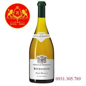 Rượu Vang Bourgogne Pinot Beurot 2016