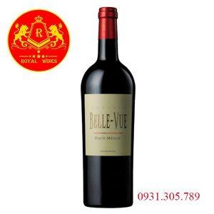 Rượu Vang Chateau Belle Vue Haut Medoc