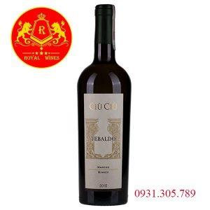 Rượu Vang Ciu Ciu Tebaldo