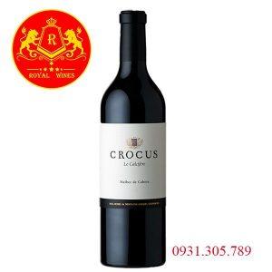 Rượu Vang Crocus Le Calcifere