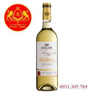 Rượu Vang Delor Heritage 1864 Sauternes