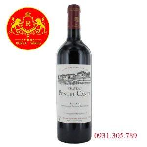 Rượu Vang Grand Cru Classe En 1855 Chateau Pontet Canet