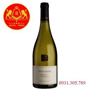 Rượu Vang Punti Ferrer Reserva Chardonnay
