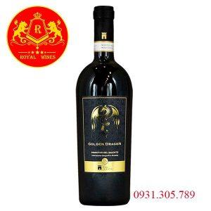 Rượu Vang Golden Dragon Primitivo Del Salento