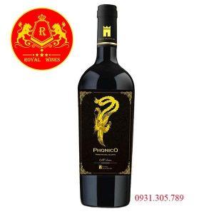 Rượu Vang Phonico Primitivo Del Salento