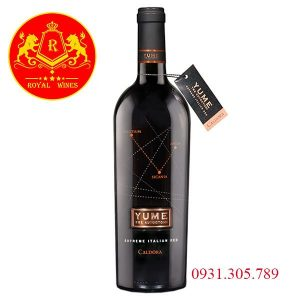 Rượu Vang Yume Tre Autoctoni Caldora
