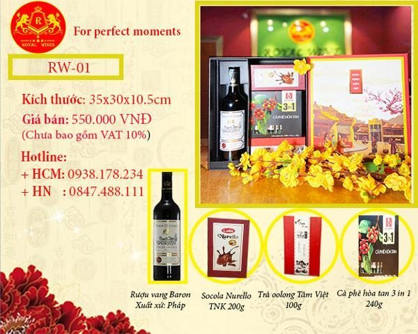 Hộp quà tết Công ty RW01