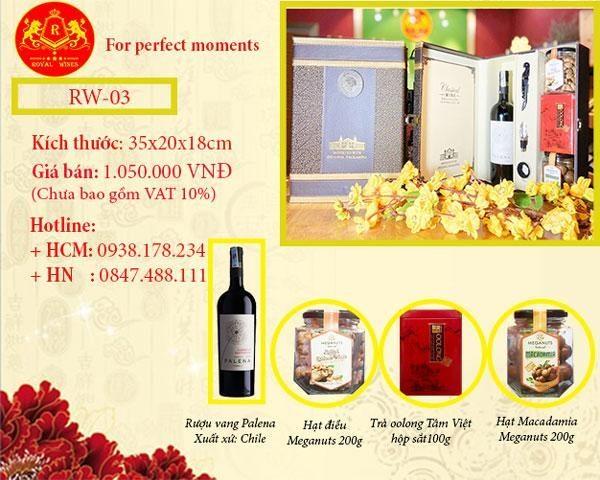 Hộp quà Tết Tân Sửu 2021 RW03