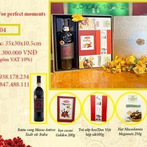 Hộp quà Tết Rượu Vang RW04