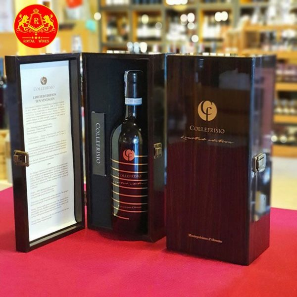 Rượu Vang Cf Collefrisio Limited Edition Ten Vintages 2