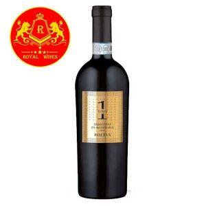 Rượu Vang Uno 1 Primitivo Di Manduria Riserva