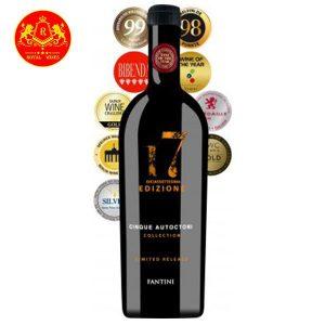 Rượu Vang 17 Edizione Limited Fantini 1
