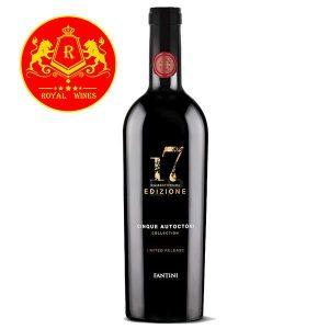 Rượu Vang 17 Edizione Limited Fantini
