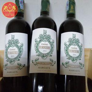 Rượu Vang Chateau Ferriere Margaux 1