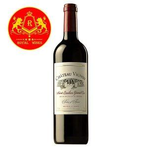 Rượu Vang Chateau Vignot