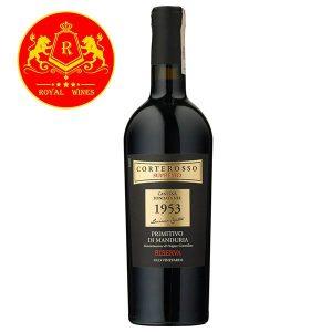Rượu Vang Corterosso Supremo 1953