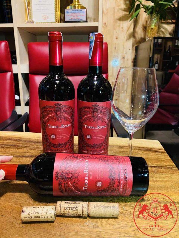 Rượu Vang Terre Da Rosso