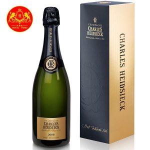 Rượu Champagne Charles Heidsieck Brut Millesime 2006