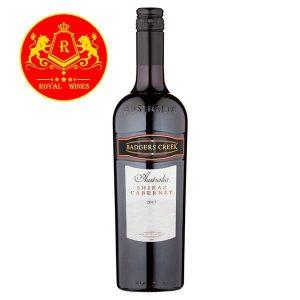 Rượu Vang Badgers Creek Shiraz Cabernet