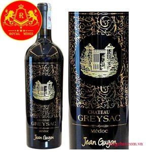Ruou Vang Chateau Greysac 1