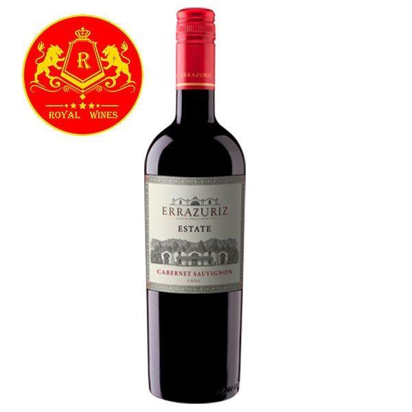 Rượu Vang Errazuriz Estate Cabernet Sauvignon