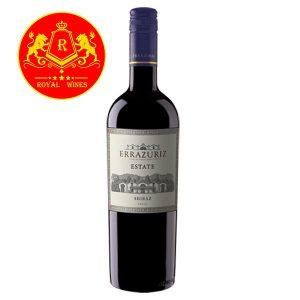 Rượu Vang Errazuriz Estate Shiraz