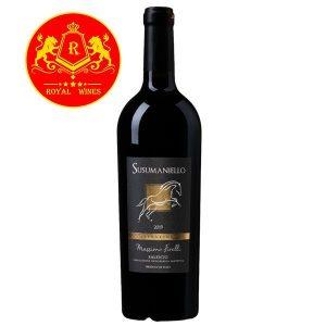 Rượu Vang Susumaniello Prestige Massimo Firelli