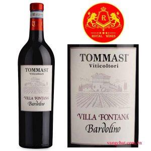 Ruou Vang Tommasi Villa Fontana Bardolino 1