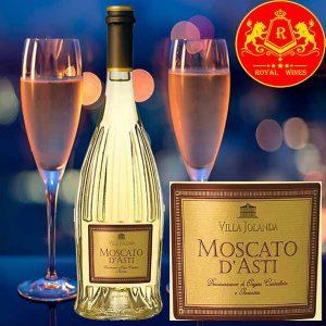 Rượu Vang Villa Jolanda Moscato Dasti 1