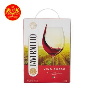 Rượu Vang Bich Tavernello Vino Rosso 3l