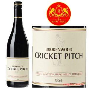 Ruou Vang Brokenwood Cricket Pitch 1