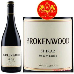 Ruou Vang Brokenwoodhunter Valley Syrah