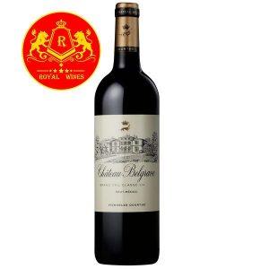 Rượu Vang Chateau Belgrave Haut Medoc