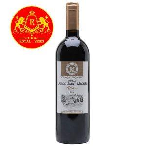 Rượu Vang Chateau Canon Saint Michel Fronsac