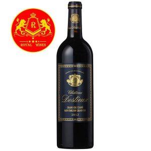 Rượu Vang Chateau Destieux Grand Cru Classe