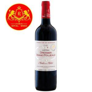 Rượu Vang Chateau Gressier Grand Poujeaux