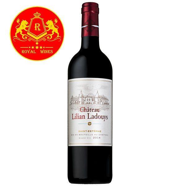 Rượu Vang Chateau Lilian Ladouys
