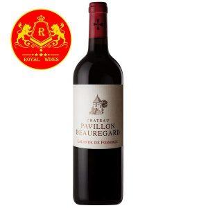 Rượu Vang Chateau Pavillon Beauregard