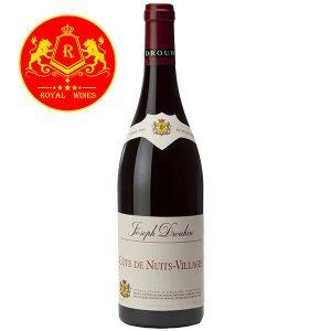 Rượu Vang Joseph Drouhin Cote De Nuits Villages