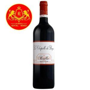 Rượu Vang La Chapelle De Bages Pauillac