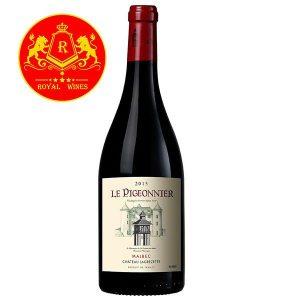 Rượu Vang Le Pigeonnier Malbec Chateau Lagrezette