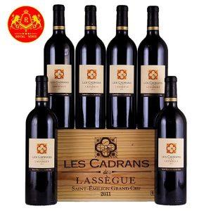 Rượu Vang Les Cadrans De Lassegue 1