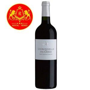 Rượu Vang Lhirondelle De Faugeres