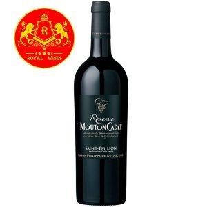 Rượu Vang Mouton Cadet Reserve Saint Emilion