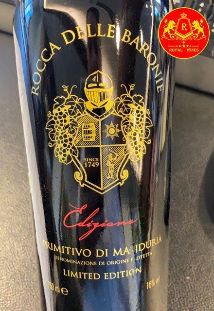 Rượu Vang Rocca Delle Baronie Limited Edition