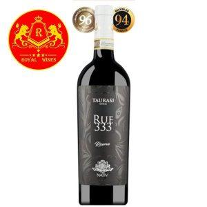 Rượu Vang Rue 333 Taurasi Riserva Nativ