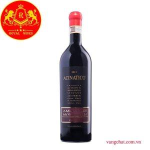 Ruou Vang Acinatico Amarone Classico Della Valpolicella 2013