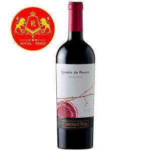 Rượu Vang Carmin De Peumo Carmenere Concha Y Toro