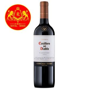 Rượu Vang Casillero Del Diablo Reserva Carmenere